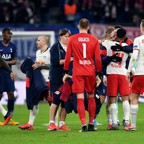 Leipzig book their place in Quarter Finals after beating Tottenham Hotspur 3 – 0
