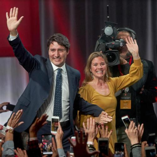 Canadian PM's wife tests positive for CoVid-19