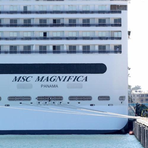 The 'last cruise ship on Earth' finally docks