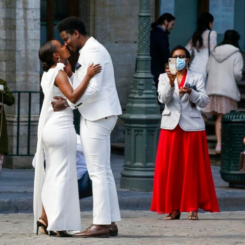Photo Story: Marriage in times of lockdown