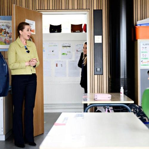 Some schools reopen in Denmark