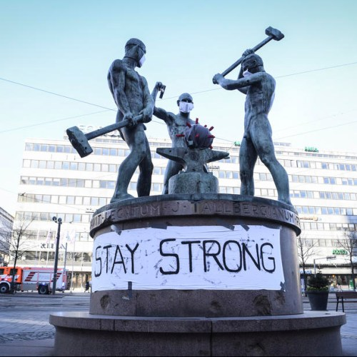 Photo Story: Moral support in Finland