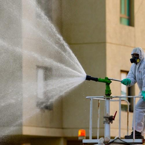 Photo Story: Massive sanitization campaign in Kuwait