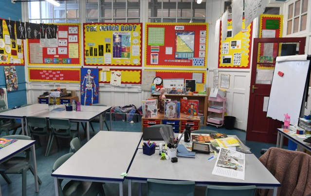 Britain's plans for staggered school return under review – minister