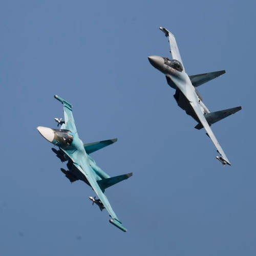 Russian warplanes practice bombing enemy ships in Black Sea drills