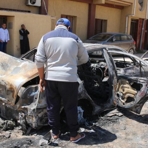 Haftar militias strike missiles towards Mitiga airport