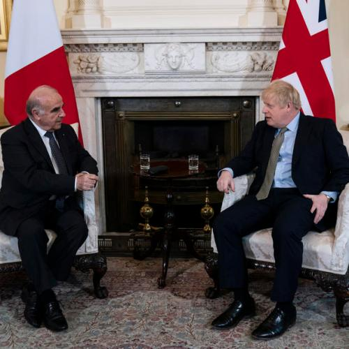 Malta's President, PM and other world leaders send support messages to Boris Johnson