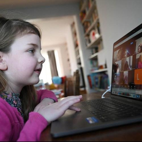 UK police warn of paedophiles preying on children online during lockdown