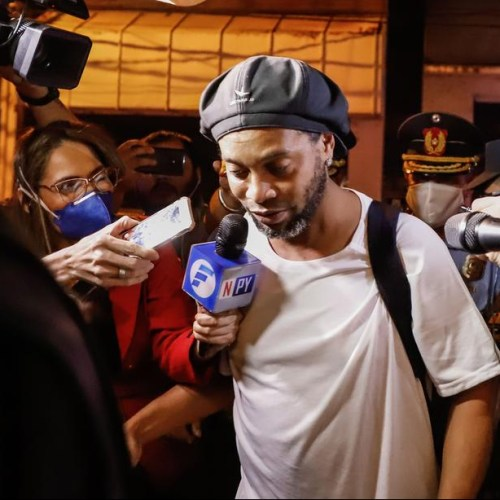 Photo Story: Ronaldinho begins house arrest at hotel in Paraguay