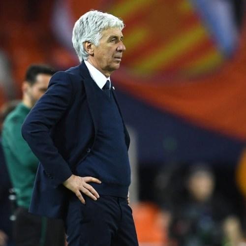 Bergamo's Atalanta coached the team in Valencia despite having coronavirus symptoms