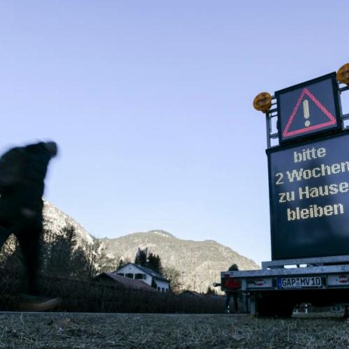 Photo Story: Border between Austria and Germany to reopen completely from 15 June