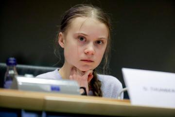 Thunberg: 'Massive public pressure' needed to galvanize climate fight