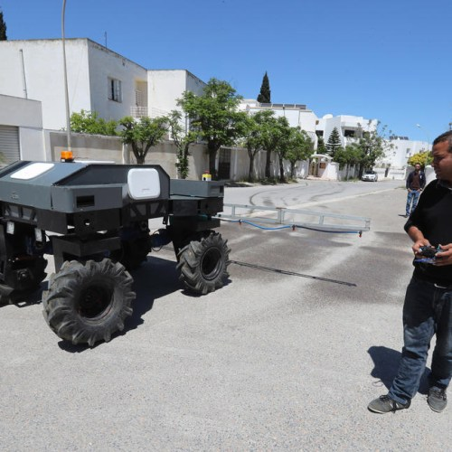 Photo Story: Robot to disinfect the streets of Tunisa