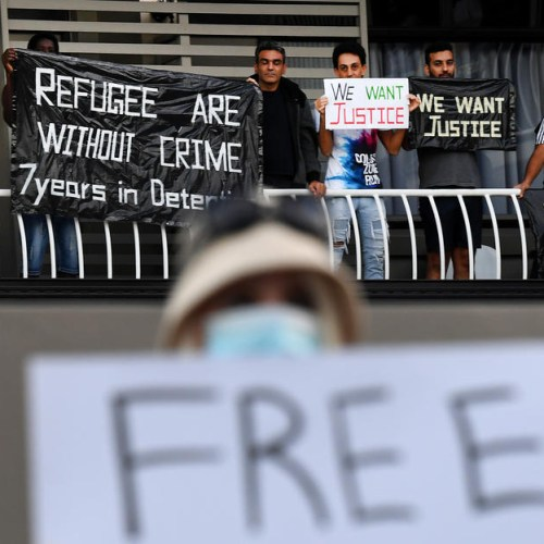 Photo Story: Asylum seekers protest in Brisbane