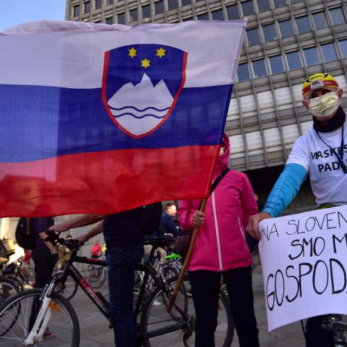 Protests in Slovenia, as Covid-19 epidemic 'end' declaration is labelled 'economic' and unhealthy