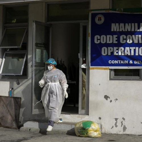 Photo story: Coronavirus infections in the Philippines now reach over 11,000 cases