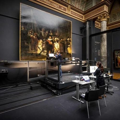 Photo Story: Rijksmuseum resumes research and restoration of The Night Watch