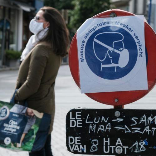 Coronavirus gives Belgium deadliest April since WW2