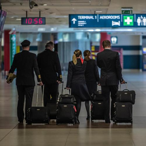 Photo Story: Prague Airport returns slowly to normality