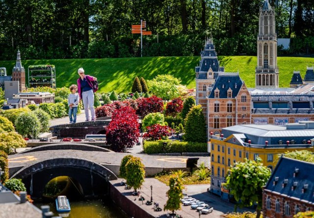 Madurodam miniature park in The Hague reopened