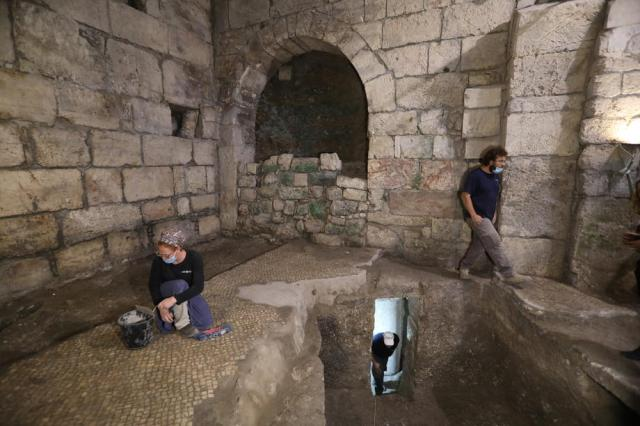 Israel Antiquities Authority excavations in the Western Wall Tunnels