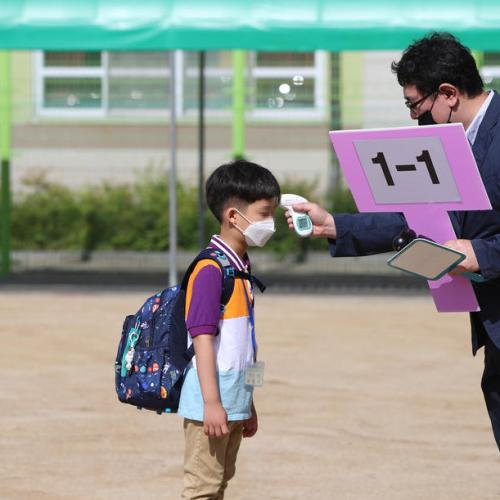 Photo Story: Reopening of elementary schools in South Korea