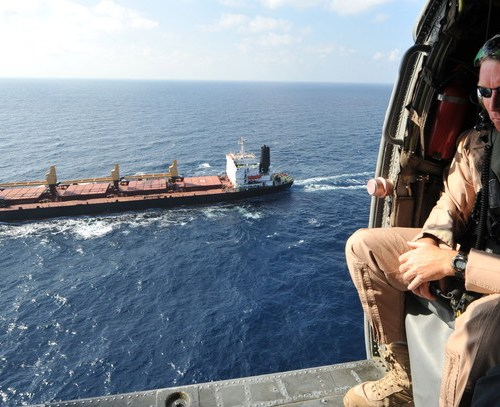 Pirate attack in the Gulf of Aden on British tanker deterred