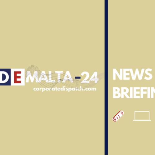 Live Updates Malta-24 – News Briefing – Wednesday 3rd June 2020
