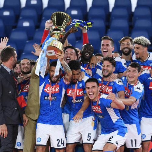Napoli win Coppa Italia