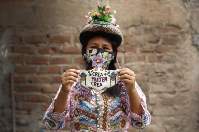 Andean and Amazonian masks save Peruvian artisans from coronavirus crisis