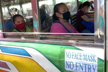 Philippines loosens coronavirus curbs in capital region