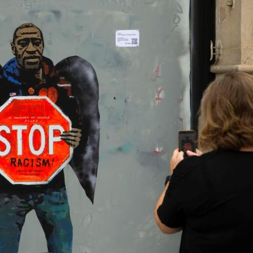 Photo Story: Tribute to George Floyd in Barcelona