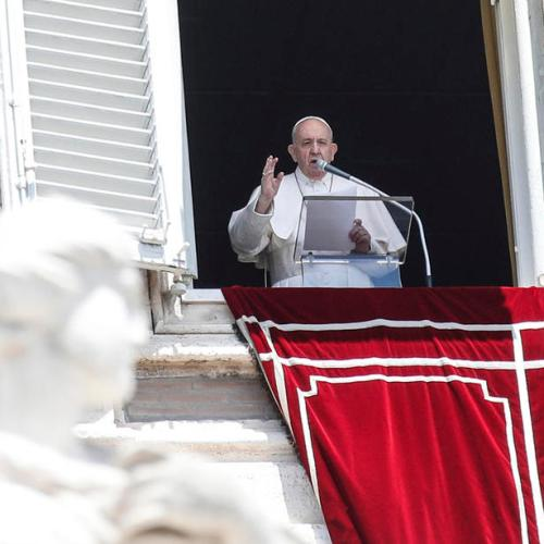 """""""Be careful, don't sing victory too soon""""– Pope Francis"""