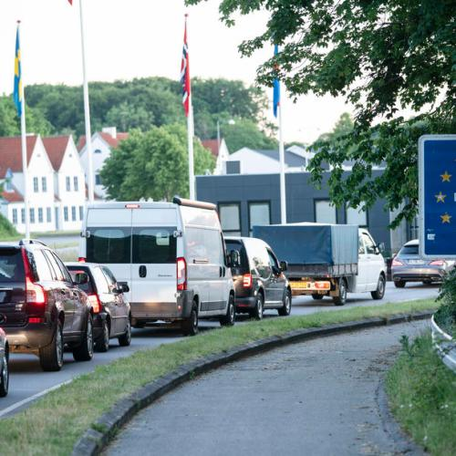 Photo story: Denmark opens border to Germany