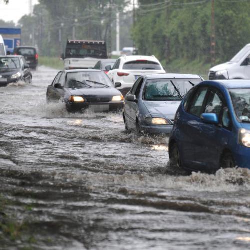 Photo Story: Rainstorm hits Budapest