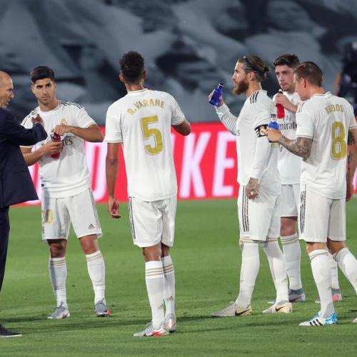 Real Madrid counter attacks referee favours criticism