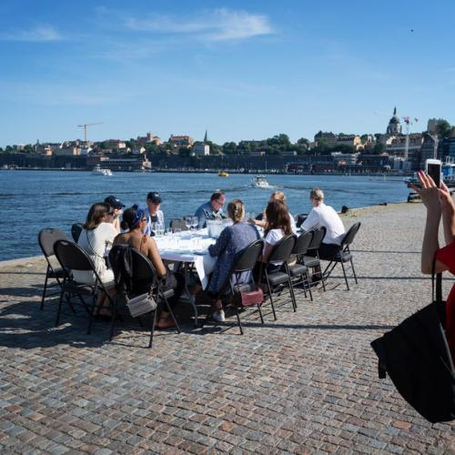 Photo Story: Social distancing in Sweden