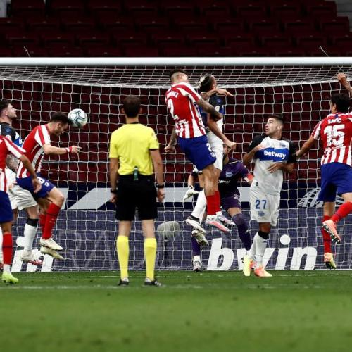 Atletico Madrid registers fourth consecutive win