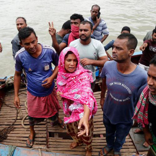 Photo Story: At least 28 killed as boat capsizes in Bangladesh