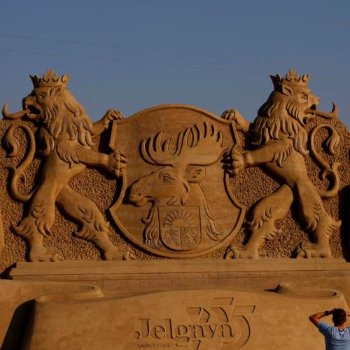 Photo Story: The 14th International Sand Sculpture Festival in Latvia