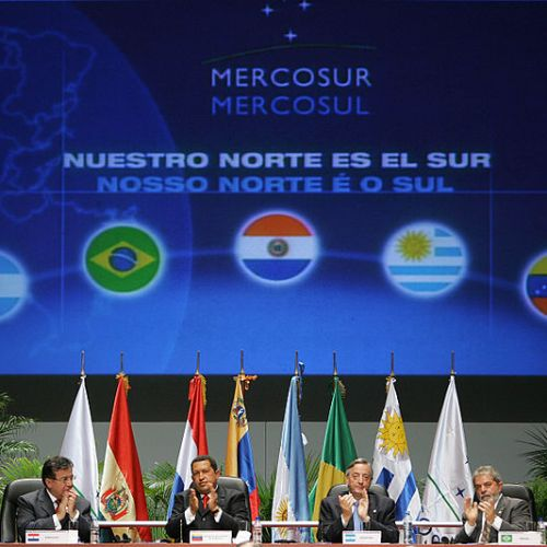 South American countries push for trade agreement with EU