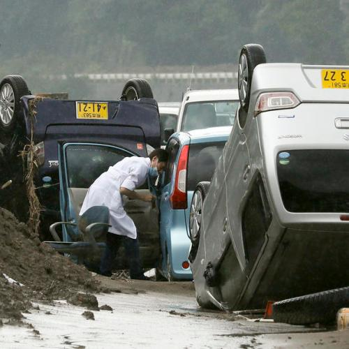 Photo Story: Floods devastate southwestern Japan