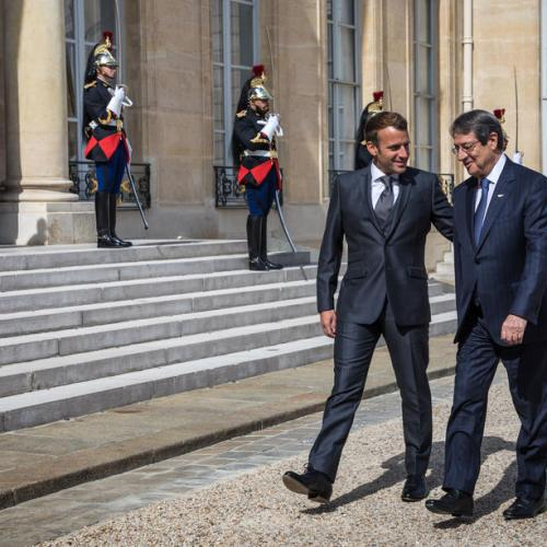 France's Macron wants sanctions over violations in Greek and Cypriot maritime space