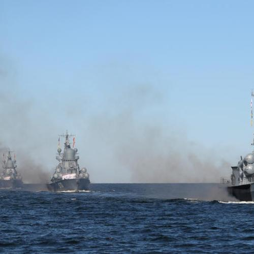 Russian navy conducts live fire exercise in Black Sea as Ukraine, NATO drill