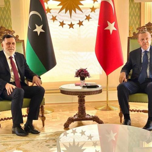 Erdogan and Al-Sarraj meet in Turkey