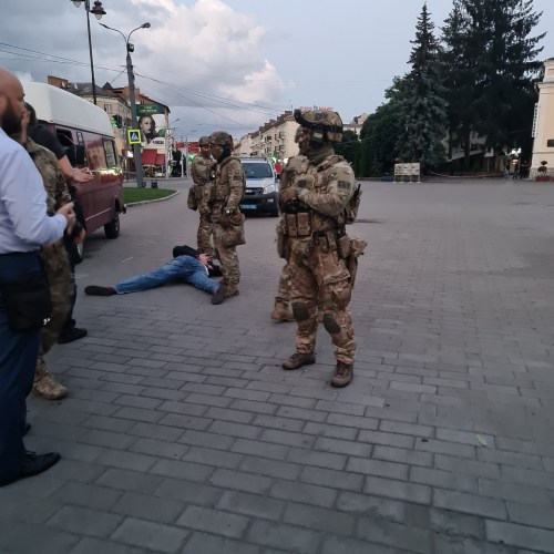 Ukraine bus hijack ends