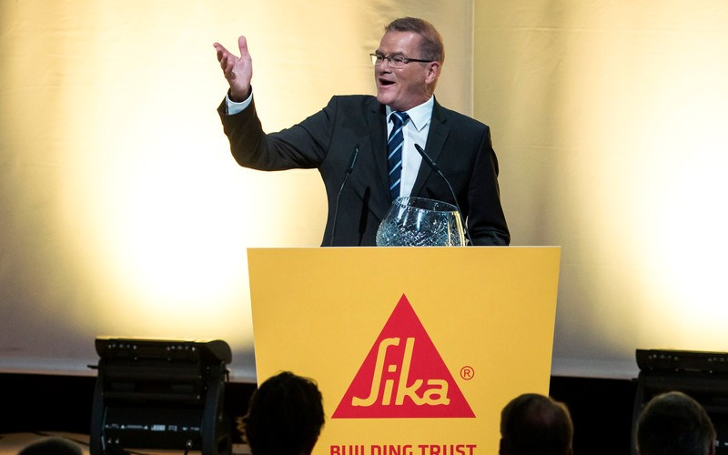 "Sika CEO ""very positive"" about construction industry recovery"