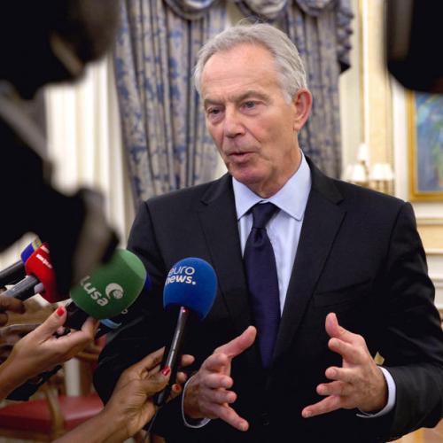 Tony Blair warns coronavirus is here 'for the foreseeable future'