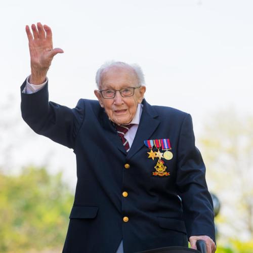 UK's record-breaking fundraiser, 'hero' Captain Tom Moore, dies aged 100 – UPDATE