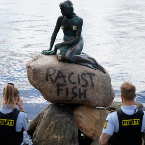 Photo Story: Iconic 'Little Mermaid' statue in Copenhagen vandalised once more